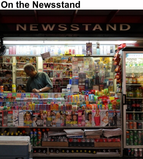 On the Newsstand